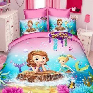 Sirena Sofija 3D Dečija Posteljina