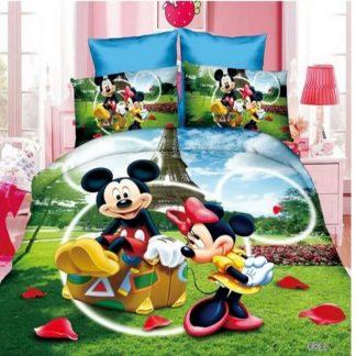 Miki Maus 3D Dečija Posteljina