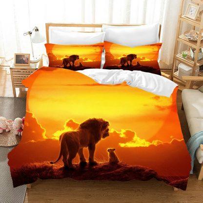 kralj lavova 3d dečija posteljina