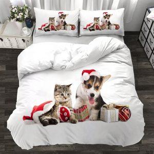 Maca i Kuca 3D Dečija Posteljina