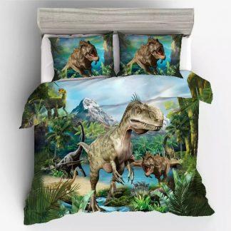 Dinosaurus 3D Dečija Posteljina